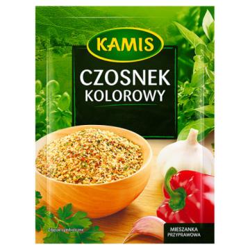 Kamis – Kolorowy czosnek to charakterystyczna przyprawa, która nadaje potrawom wyrazisty smak.