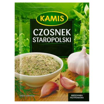 Czosnek staropolski - Kamis. Mieszanka przypraw doskonała mięsa, zup oraz sosów.