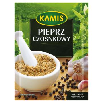 Kamis – Pieprz czosnkowy to połączenie dwóch najczęściej używanych przypraw.