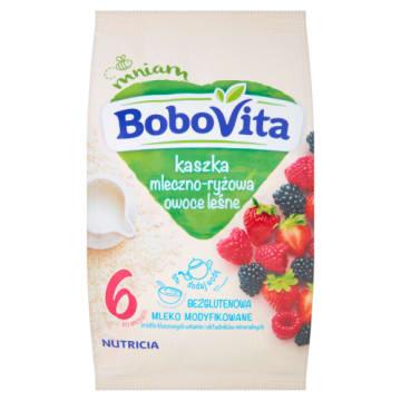 Kaszka mleczno-ryżowa - Bobovita. Nie tylko dla dzieci z nietolerancją glutenu.