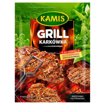 Kamis - Przyprawa do karkówki z grilla pozwoli przygotować aromatyczne mięso.