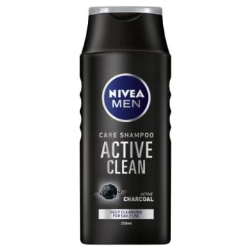 NIVEA MEN Pielęgnujący szampon do włosów Active Clean 250ml