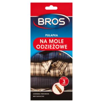 Pułapka na mole - Bros. Bezwonna pułapka do monitorowania obecnośi moli w szafach.
