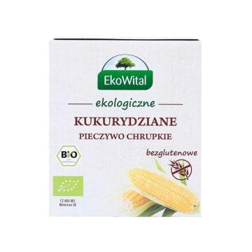 EKO WITAL Pieczywo chrupkie kukuryziane bezglutenowe BIO 100g