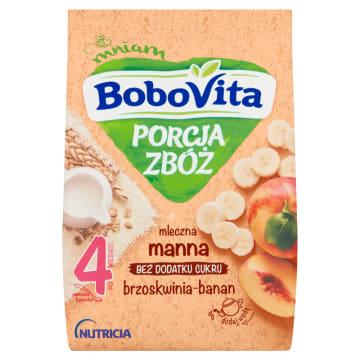 Kaszka mleczna - Bobovita. Pomaga wprowadzić gluten do diety dziecka.
