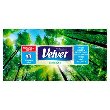 Wysokiej jakości, miękkie chusteczki Velvet Relax – pogromcy największego kataru!