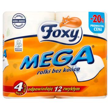 Papier toaletowy - Foxy Mega. Niezbędny element w każdej łazience.