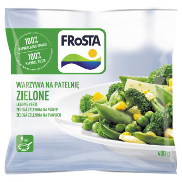 Mrożone warzywa - Frosta. Świeży i zdrowy posiłek.