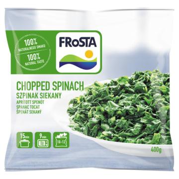 Frosta Szpinak mrożony w kształcie serduszek. To nieodłączny element zdrowej diety.