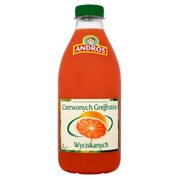 ANDROS Sok różowy grejpfrut 1l