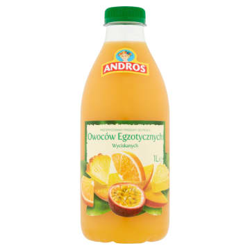 ANDROS Sok owoce tropikalne 1l