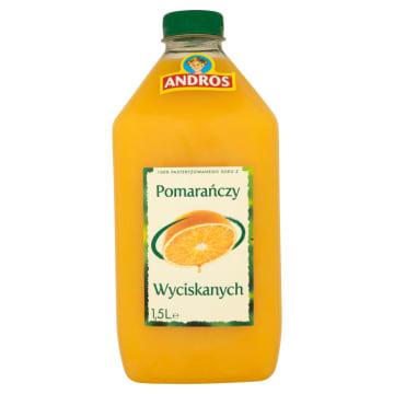 ANDROS Sok 100% z pomarańczy wyciskanych 1.5l