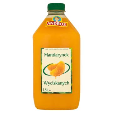 ANDROS Sok 100% z mandarynek wyciskanych 1.5l