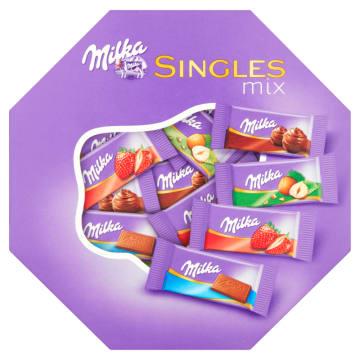 Czekoladki Single mix - Milka