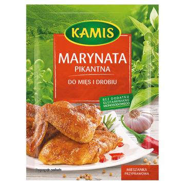 Kamis - Marynata pikantna do mięs i drobiu. Mieszanka przyprawowa do każdego rodzaju mięs.