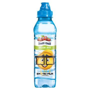 Żywiec Zdrój-Niegazowana naturalna woda źródlana o smaku jabłkowym.