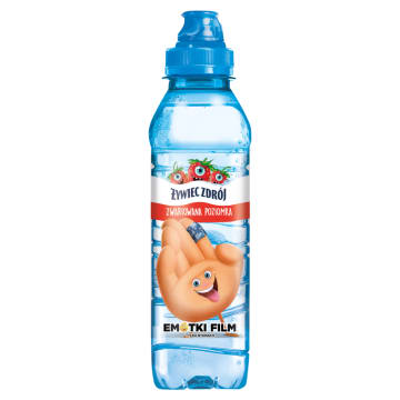 Woda niegazowana poziomkowa - Żywiec Zdrój