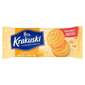 Krakuski kruche ciasteczka - Bahlsen to pyszna, słodka przekąska.