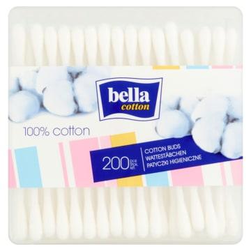 Bella Cotton - Patyczki higieniczne 200 szt. Komfortowe w użyciu i higieniczne.