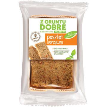 Z GRUNTU DOBRE Pasztet warzywny 200g