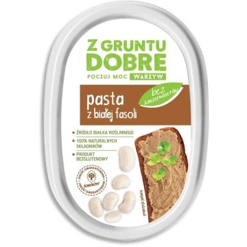 Z GRUNTU DOBRE Pasta z białej fasoli 190g