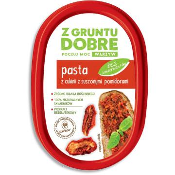 Z GRUNTU DOBRE Pasta z cukini z suszonymi pomidorami 190g
