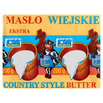 Masło extra wiejskie - Rolmlecz