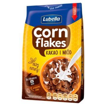 LUBELLA Corn Flakes Płatki kukurydziane Kakao i Miód 400g