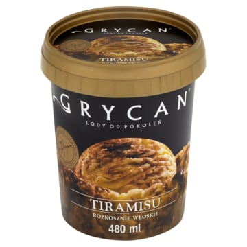 GRYCAN Lody tiramisu 480ml