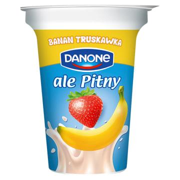 Napój jogurtowy truskawka i banan - Danone. Pyszny pitny jogurt ze składników najlepszej jakości.
