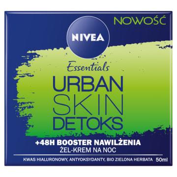 NIVEA Urban Skin Detoks Krem na noc 50ml