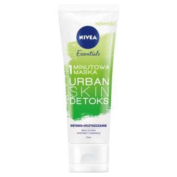 NIVEA Urban Skin Detoks 1-minutowa maska 75ml