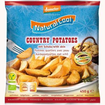 NATURAL COOL Ziemniaki Country mrożone BIO 450g