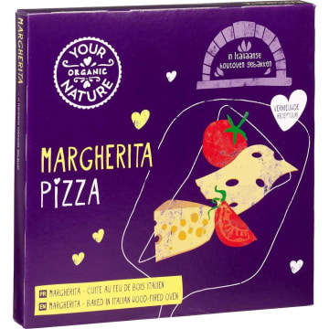 YOUR ORGANIC NATURE Pizza Margherita mrożona BIO 350 g