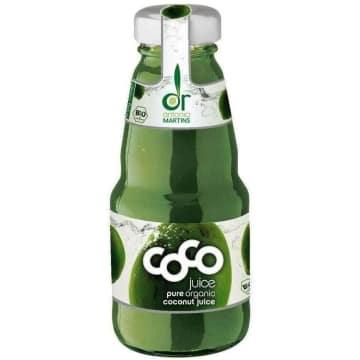 DR.MARTINS COCO Woda kokosowa naturalna szkło BIO 200ml