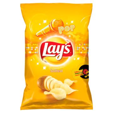 Chipsy złociste solone - Lays TV Paka