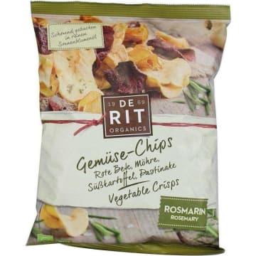 DE RIT Chipsy warzywne z rozmarynem BIO 75g