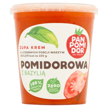 Zupa krem Pomidor&Bazylia - Pan Pomidor&co