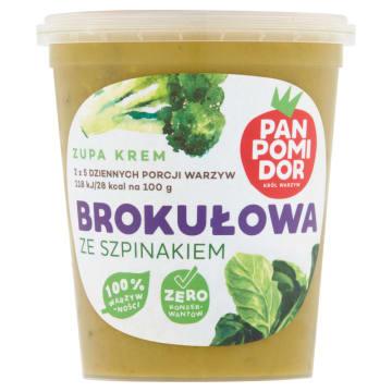 Zupa krem Brokuł&Szpinak
