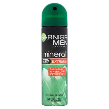 GARNIER Mineral MEN dezodorant w aerozolu 150ml. Ekstrelamna ochrona i pielęgnacja skóry