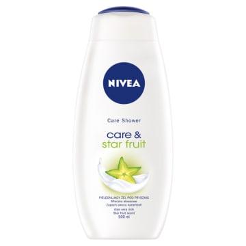 Nivea - Kremowy żel pod prysznic Care & Star Fruit. Doskonale myje i skutecznie nawilża.