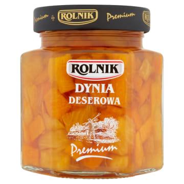 Rolnik - Dynia deserowa w kostce stanowi orzeźwiający składnik sałatek i deserów.