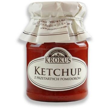 Krokus - Ketchup 180g. Intensywny smak i aromat przygotowywanych potraw.