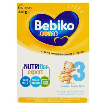 Junior 3 Mleko modyfikowane po 1 roku BEBIKO 350g - dla niemowląt po 12 miesiącu życia.