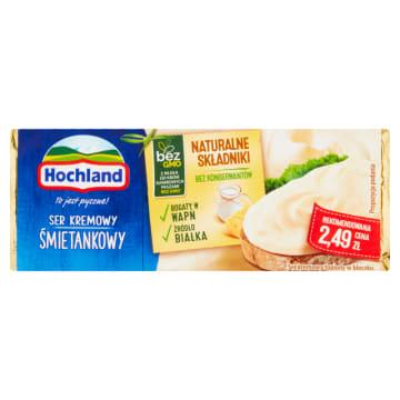 Ser topiony w bloczku – Hochland. Ekonomicznie zapakowane i przepyszne do kanapek.