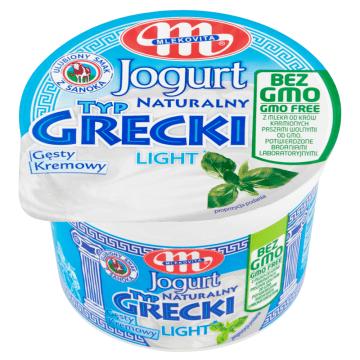 MLEKOVITA Jogurt naturalny typ grecki bez GMO 200g