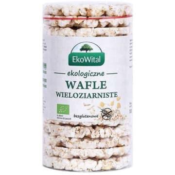 EKO WITAL Wafle wieloziarniste bez soli bezglutenowe BIO 110g