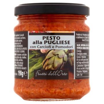 FRUTTI DELL ORTO Pesto z karczochami i pomidorami 190g