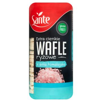 SANTE - wafle ryżowe są pełnowartościową przekąską