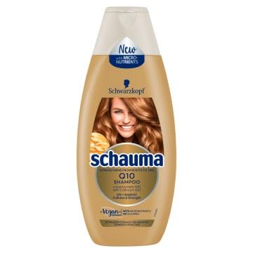 SCHAUMA Q10 Odbudowujący Szampon do włosów 400ml